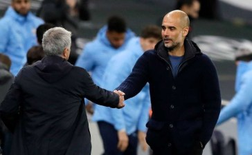 The Biggest Premiership contenders right now is Tottenham.[Pep Guardiola]testify after facing defeat from the Jose Mourinho side.