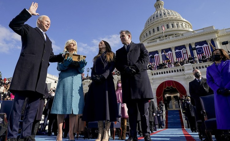 Joe Biden has been sworn in as the 46th president of the United States of America.