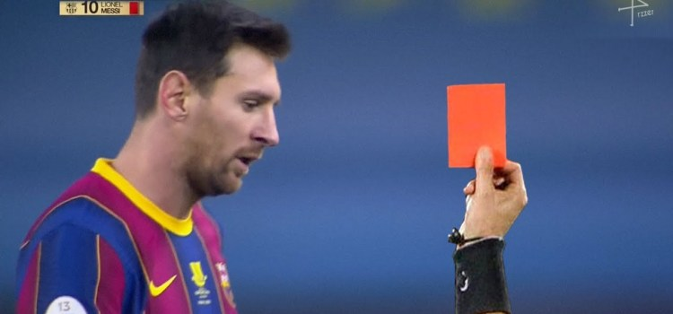 Barcelona Captain, Lionel Messi has been handed two-game ban for punching opponent during Super Cup final against Athletic Bilbao.