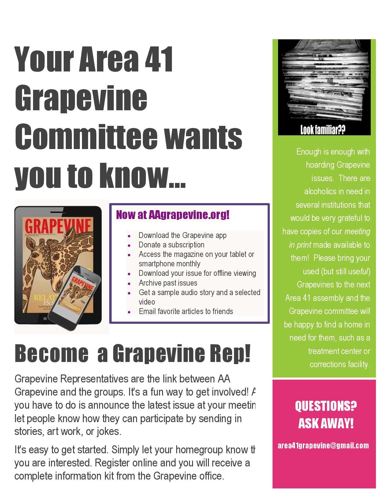 Aa Grapevine Jokes : grapevine, jokes, Grapevine, Lincoln, Nebraska