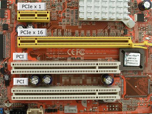 PCI слот - определение в компьютерном словаре