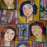 5 amigas by Maria Esther Sund