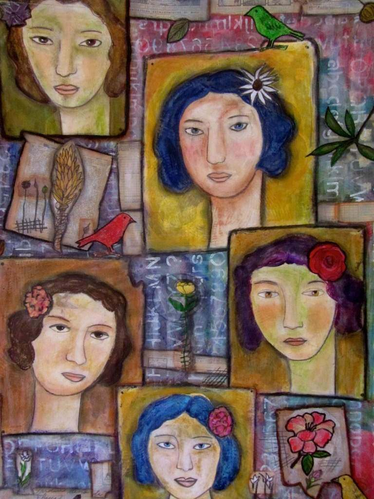 5 amigas by Maria Esther Sund