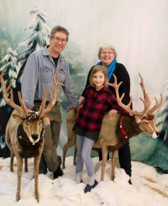 Family in the Reindeer Room