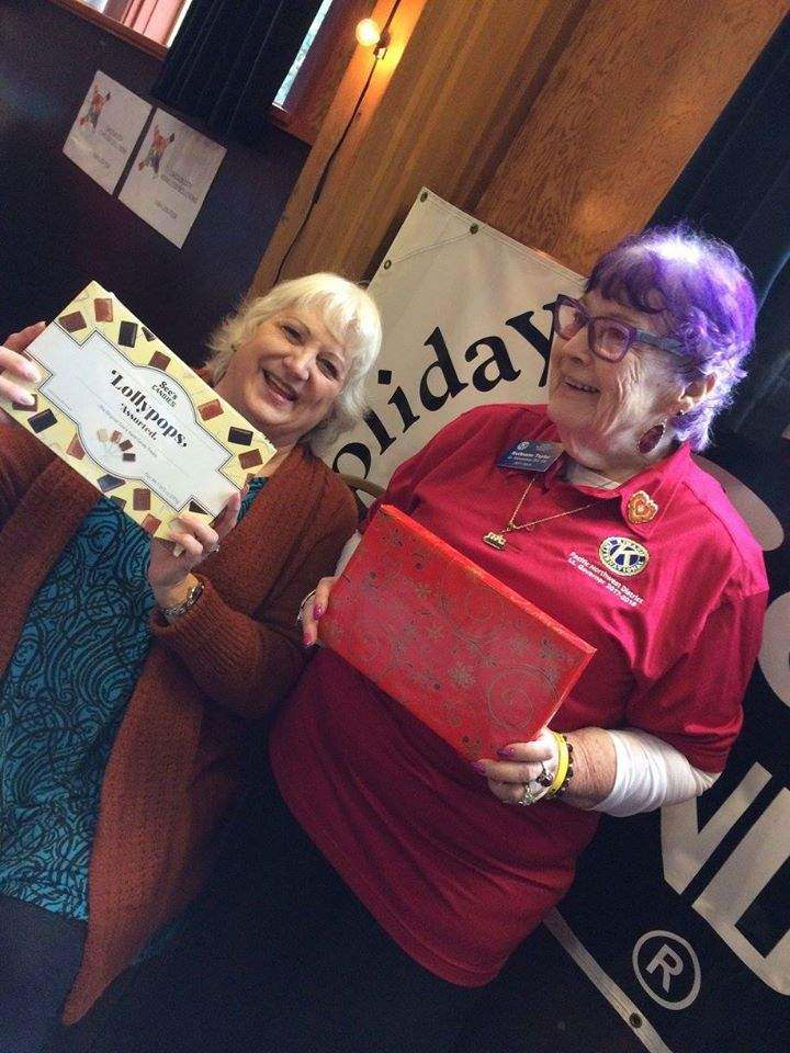Kiwanis Sees Candy Giving Tuesday