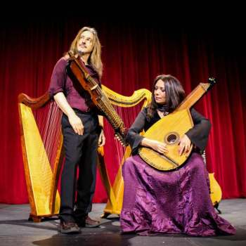Celtic Harps, Rare Instruments & Wondrous Stories with Lisa Lynne & Aryeh Frankfurter 1