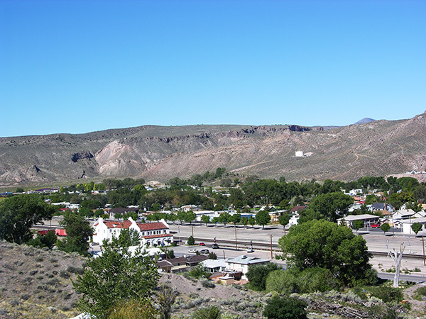 Towns in Nevada  City of Caliente  Lincoln County Nevada
