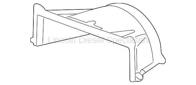 GM OEM Fan Shroud (Upper) (2006-2010)