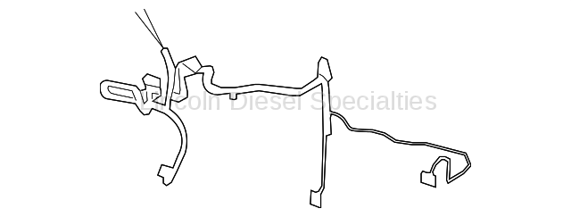 GM OEM HVAC Evaporator Heater Harness