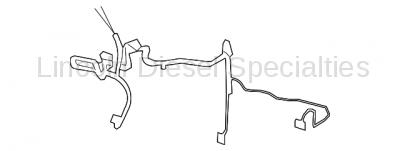 GM OEM HVAC Evaporator Heater Harness
