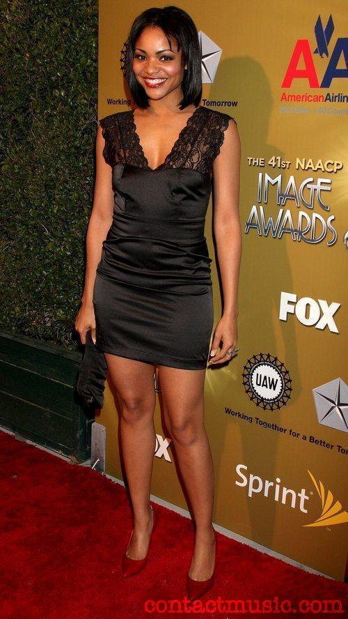 Erica Hubbard At NAACP Image Awards