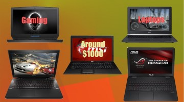 5 Professional Gaming Laptops above $1000