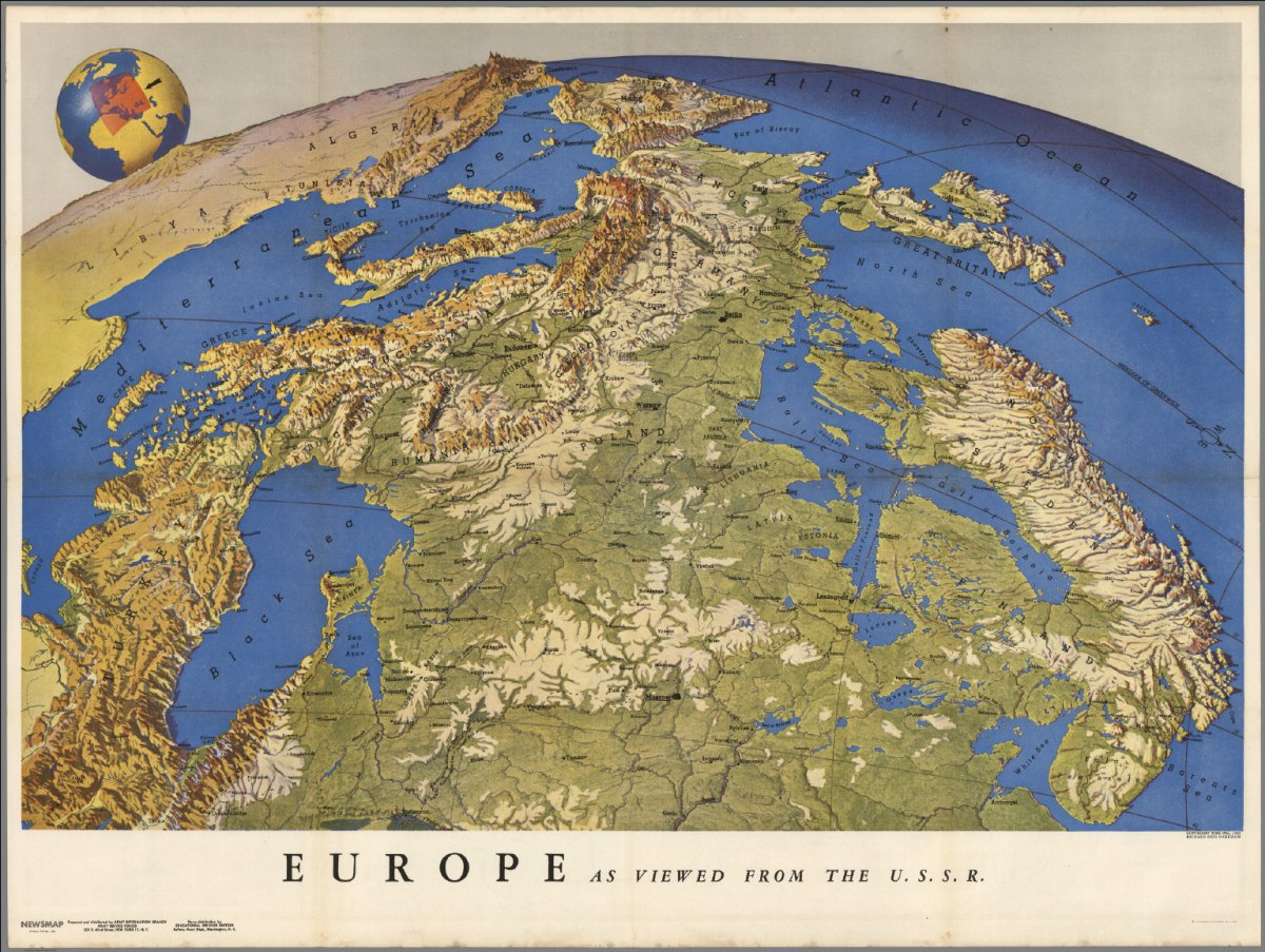 Map projections and the historical imagination