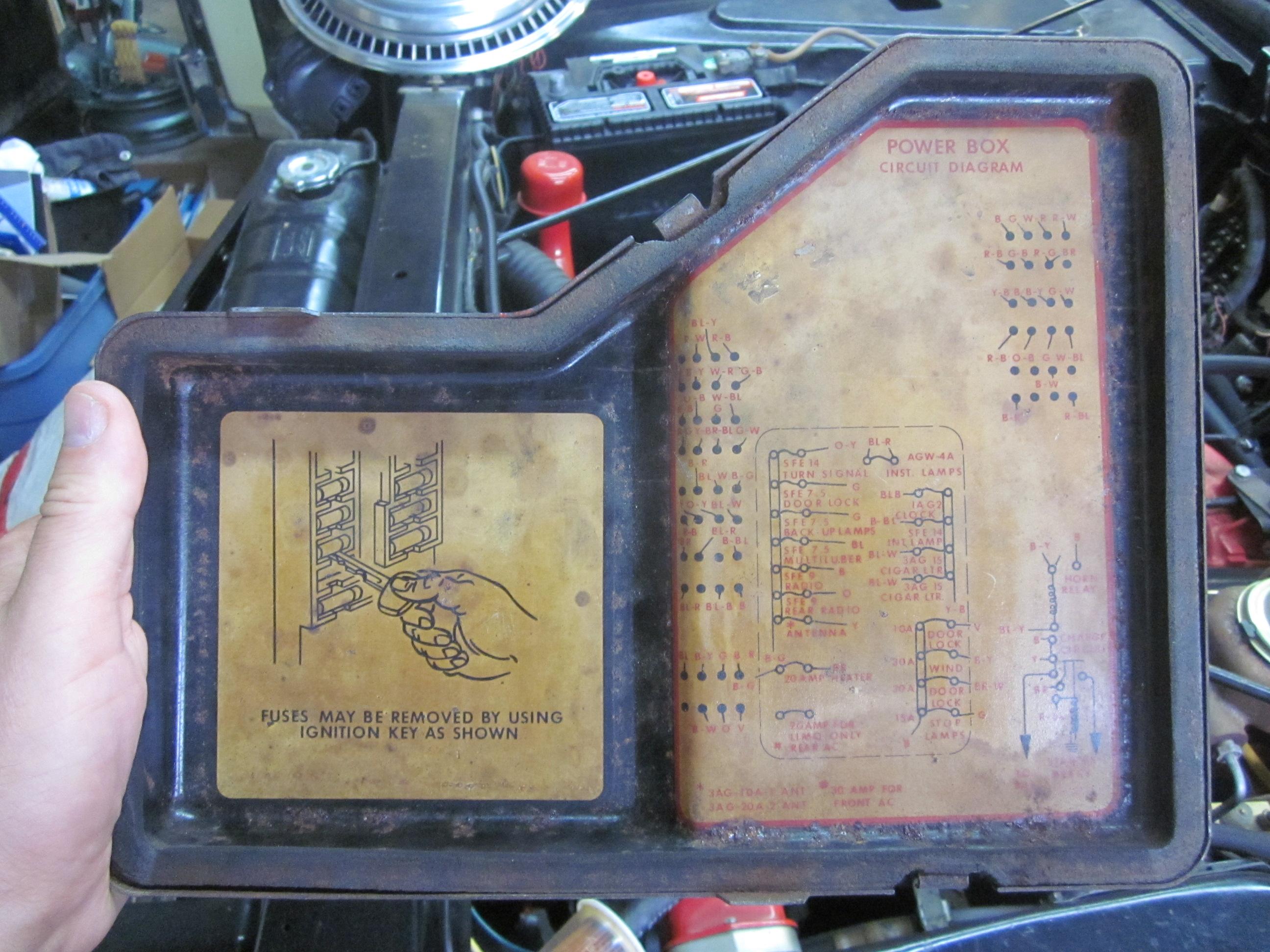medium resolution of lincoln fuse box diagram lincolnrestoration 1998 cadillac coupe deville fuse diagram 1987 cadillac deville fuse box