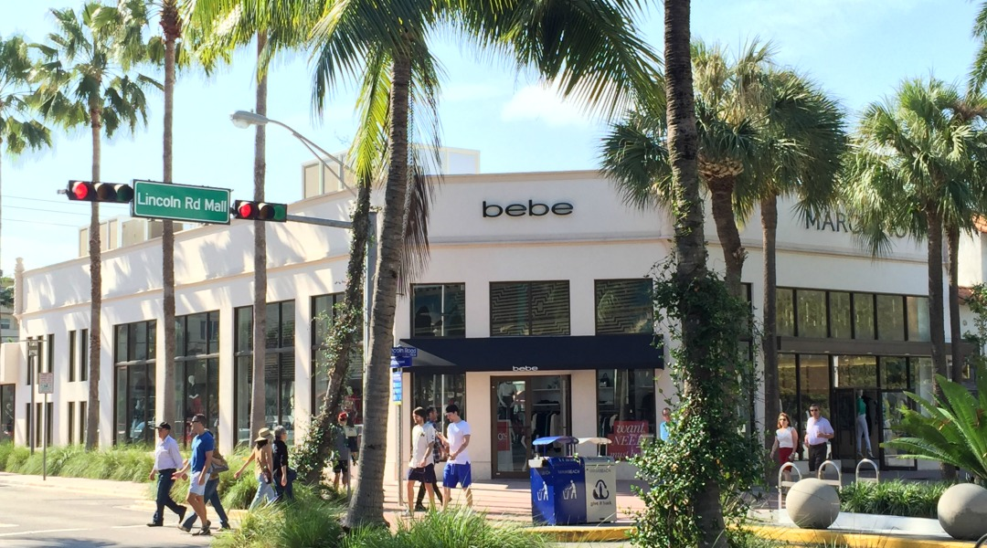 bebe on Lincoln Road