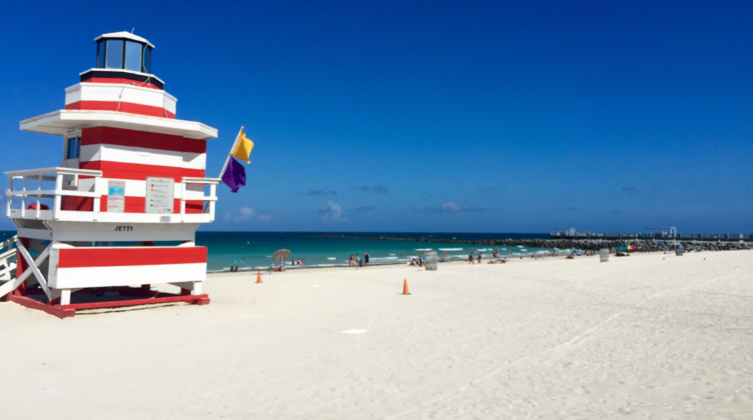 lifeguard-shack South Beach