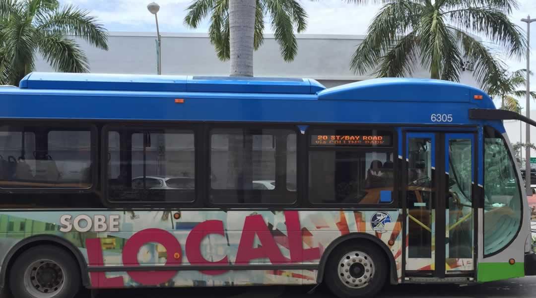 Hop on the South Beach Local Bus