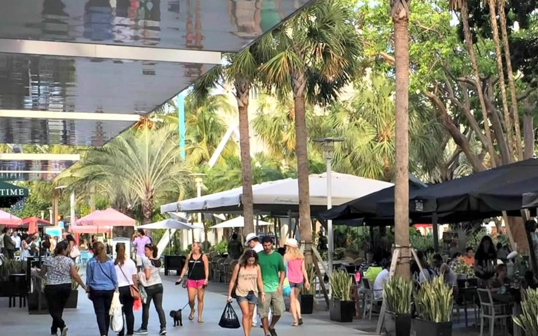 South Beach's Most Popular Destination is Lincoln Road.