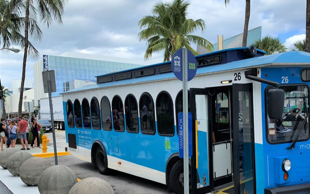 Hop on the South Beach Trolley – It's Free to Ride!