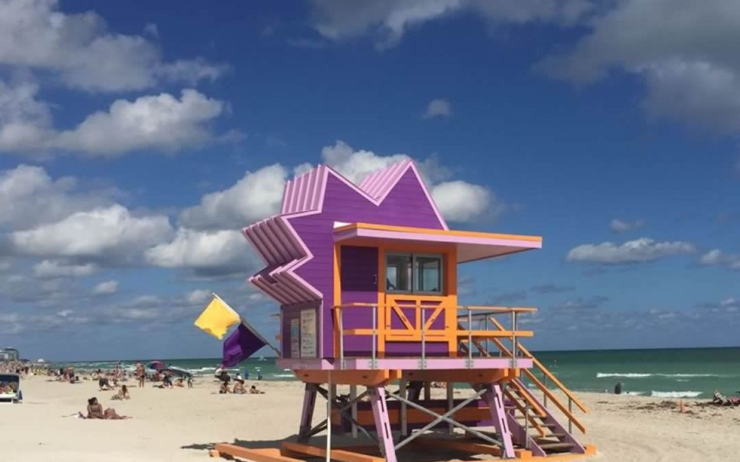 Lifeguard Shack on South Beach