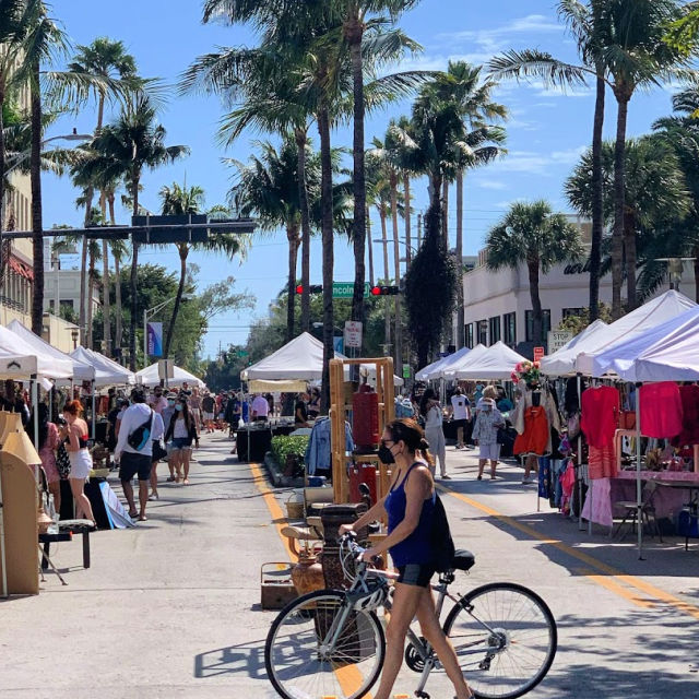 Lincoln Road Antique-Market