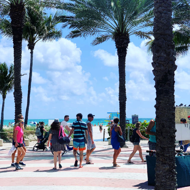 Lincoln Road is only minutes from our world famous beaches.