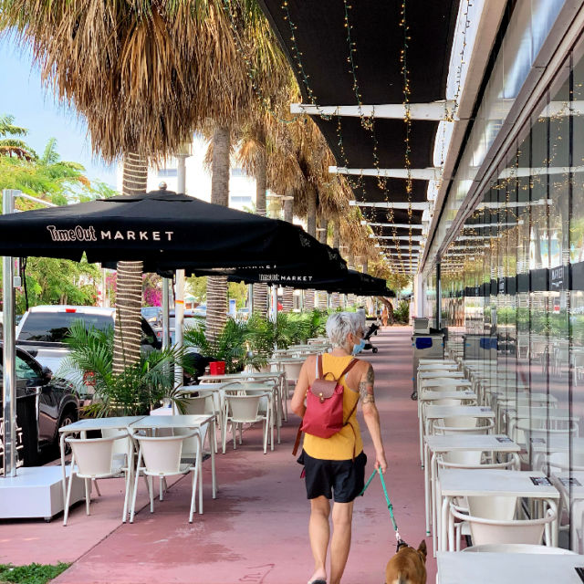 Hungry? Stop by the world famous Timeout Market on Lincoln Road