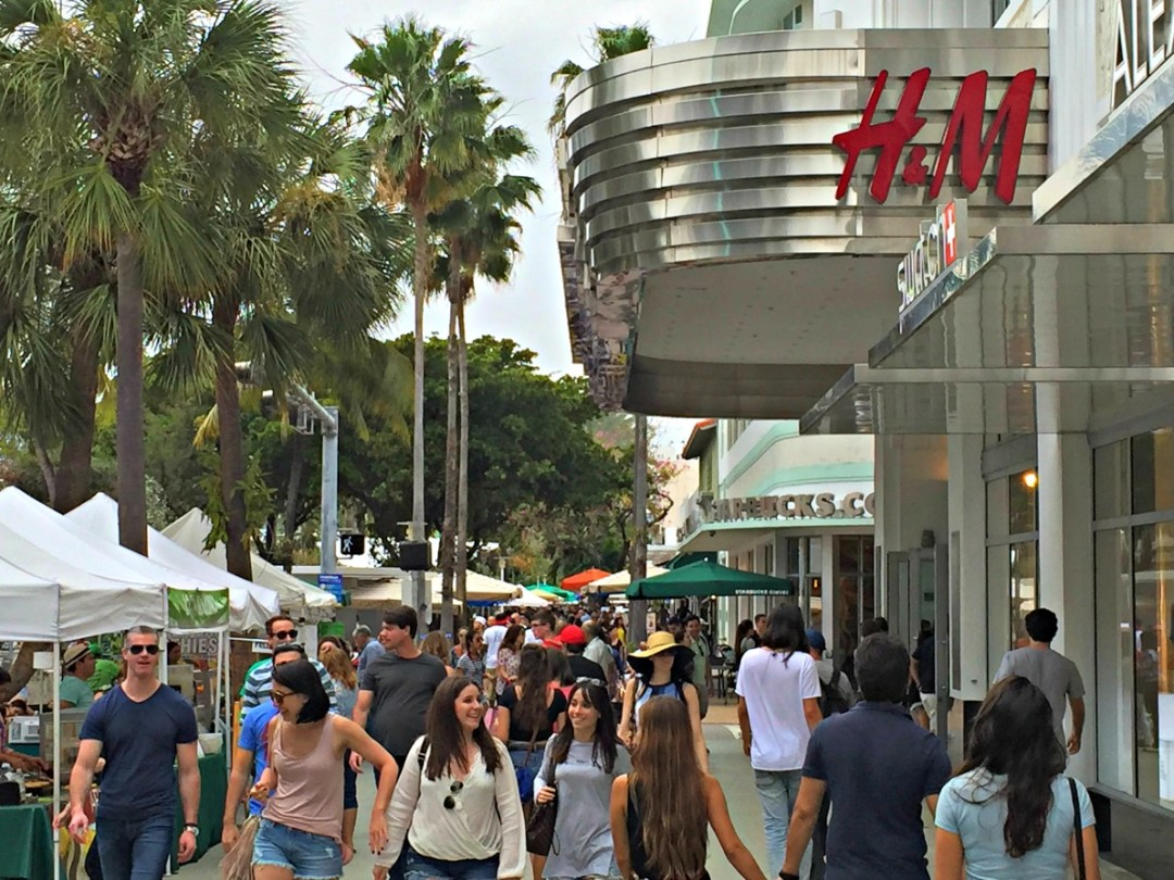 Shopping Lincoln Road -H&M, ZARA, Y-3, and much more