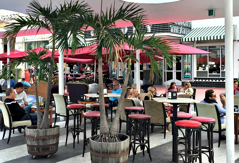 Take a break from shopping and get your chill on at Segafredo Lincoln Road