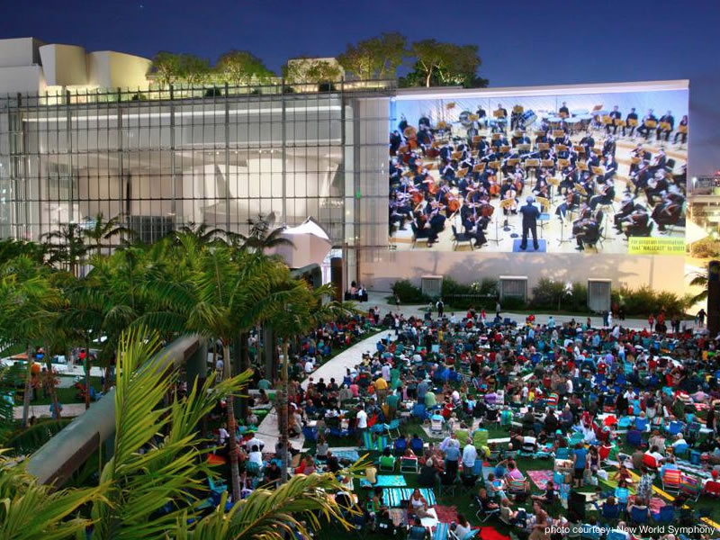The New World Symphony 2015-16 WALLCAST™ Concert Series Dates and Times