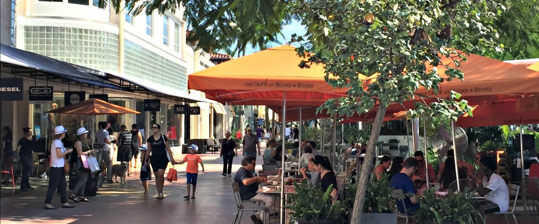 Lincoln Road Restaurants and cafes