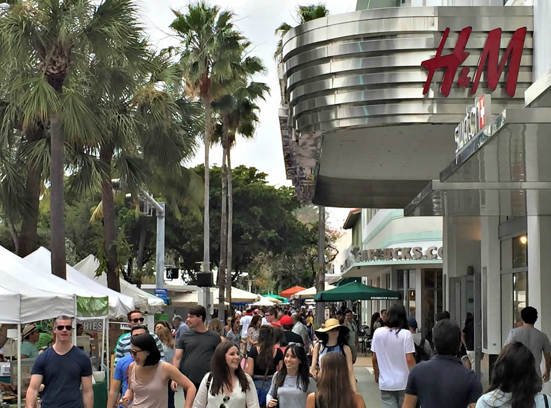 about lincoln road mall - lincoln road mall - shop, dine, enjoy