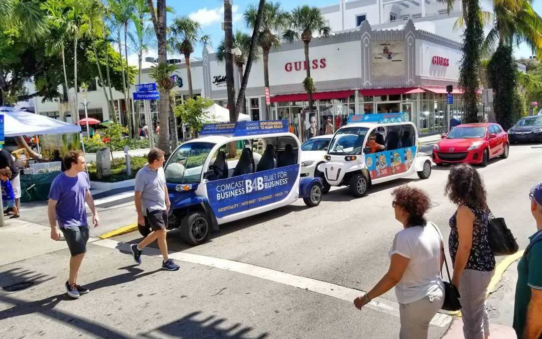 Ride Around in South Beach for Free