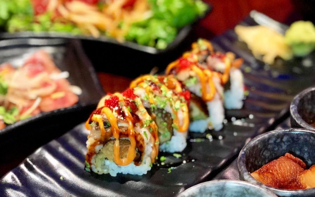 GET YOUR ROLL ON AT THESE SUSHI HOT SPOTS