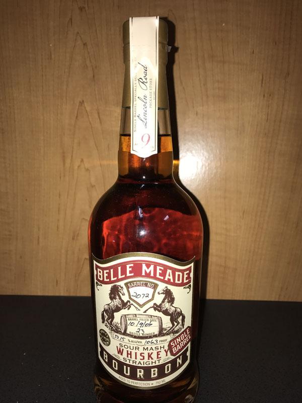 Belle Meade Bourbon 2