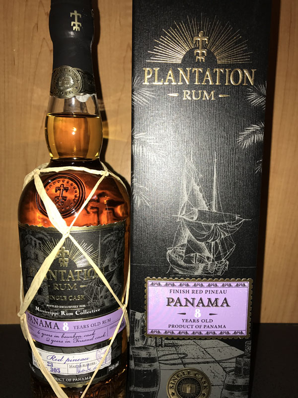 Plantation Rum finish Red Pineau