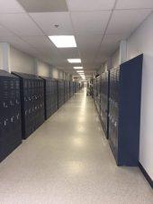 Hallway, HPS Temporary Classrooms