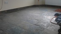 Riven Slate Floor Cleaning in Lincoln