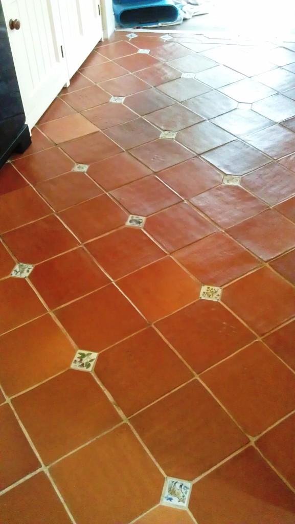 Cleaning Terracotta Floor Tiles Near Boston  Lincolnshire Tile DoctorLincolnshire Tile Doctor