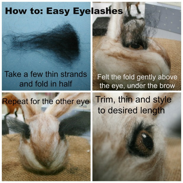 how to eyelashes