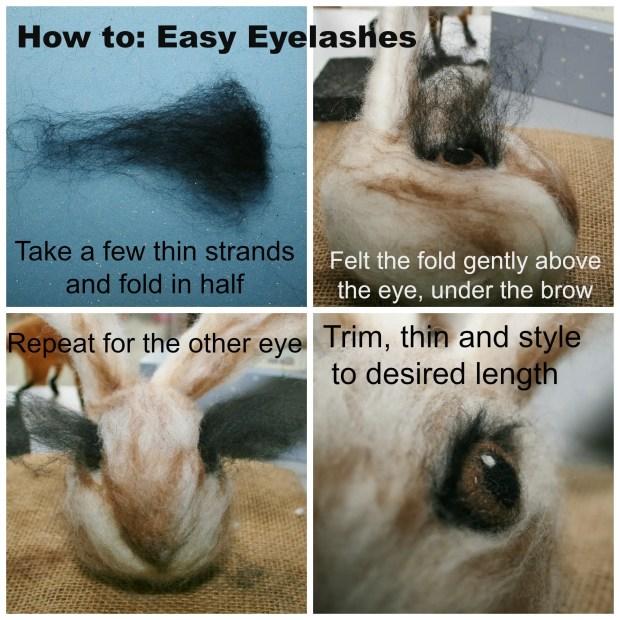 how to eyelashes