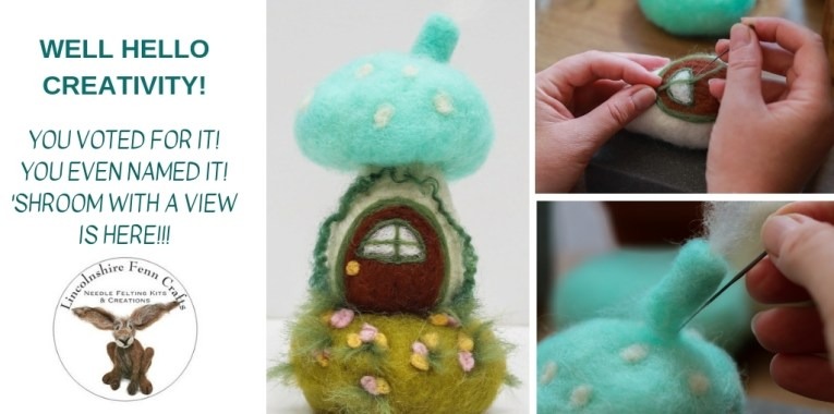 This Needle Felting Kit Is More Fun Than You Can Shake A