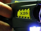 Police taser man who became a 'danger to the public'