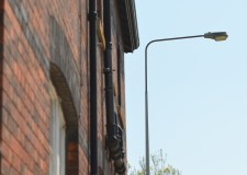 Streetlights adjust to new time