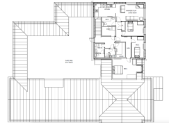 Layout for upstairs seating
