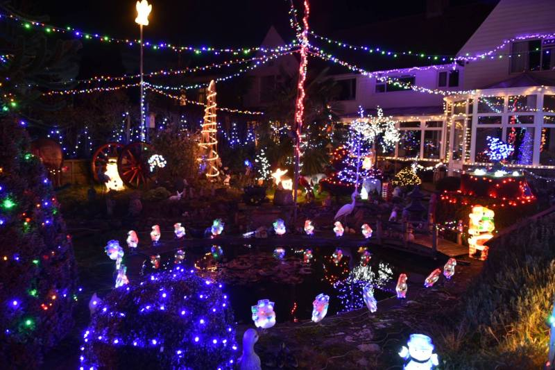 Are these the best Christmas lights in the UK? Photo: Steve Smailes for Lincolnshire Reporter