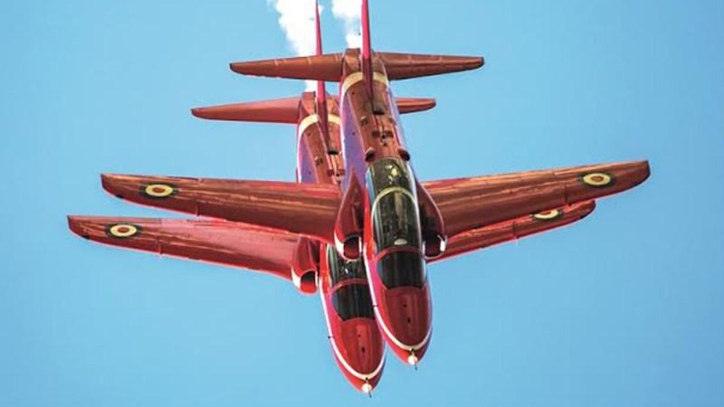 Will you be going to next year's airshow at RAF Scampton?