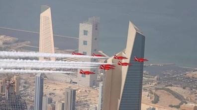 Kuwait. Photo: Red Arrows