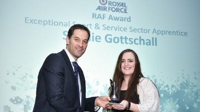 Winner of Apprentice Student of the Year Streets Chartered Accountants Award, Sophie Gottschall. Photo: Steve Smailes for Lincolnshire Reporter