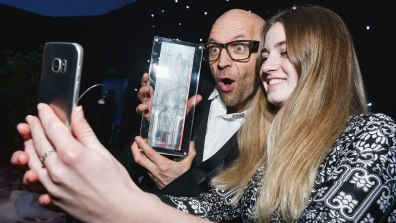 TV presenter Jason Bradbury was a guest speaker at the Lincoln College Awards. Photo: Steve Smailes for Lincolnshire Reporter